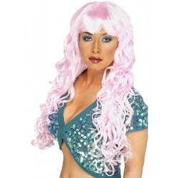 Paruka Siren růžová