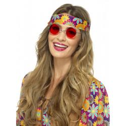 Brýle Hippie červené