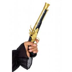 Pirátská pistole černá, 30 cm