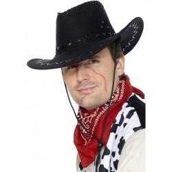 Klobouk Kovboj černý
