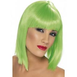 Paruka Glam neon zelená