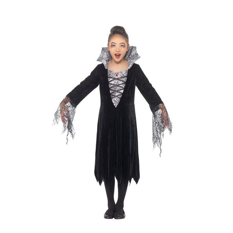 Dětský kostým Pavoučí vampírka