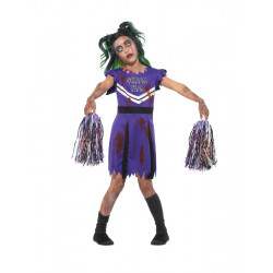 Dětský kostým Zombie cheerleader