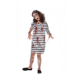 Dětský kostým Zombie vězeňkyně