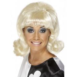 Paruka 60s Flick-Up blond