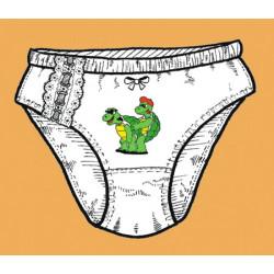 Kalhotky Šukající želvičky