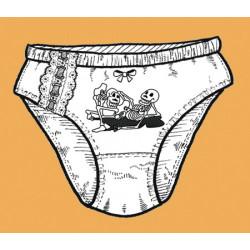 Kalhotky Šukající kostlivci