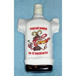 Tričko na flašku Pekelně dobrá ta tě rozpálí