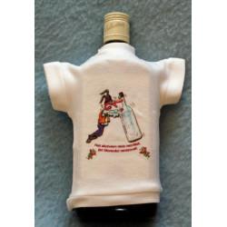 Tričko na flašku Nad alkoholem nikdo nezvítězil