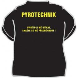 Tričko Pyrotechnik