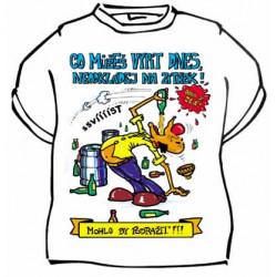 Tričko Co můžeš vypít dnes, neodkládej
