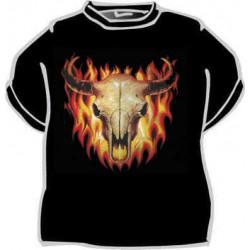 Tričko Býk v ohni