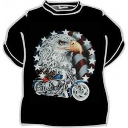 Tričko Motorka a orlí hlava
