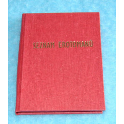 Seznam erotomanů staré provedení