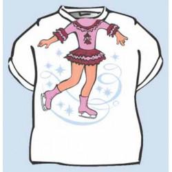 Dětské tričko Krasobruslařka