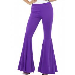 Kalhoty Hippie, dámské fialové
