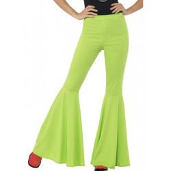 Kalhoty Hippie, dámské zelené