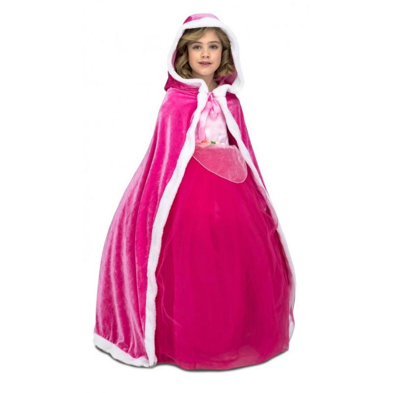 Dětský plášť růžový