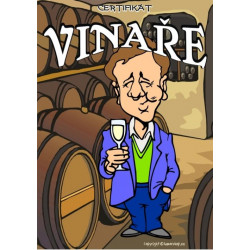 Certifikát vinaře (nastojato)