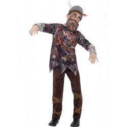 Dětský kostým Zombie viking