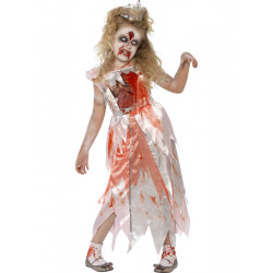 Dětský kostým Zombie princezna