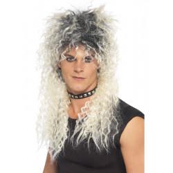 Paruka Hard Rocker blond/černá