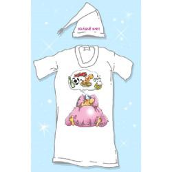 Noční košile s čepičkou Krásné sny