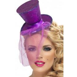 Klobouk Mini fialový