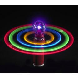 Solar spinner svítící