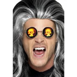 Brýle Lebky kulaté