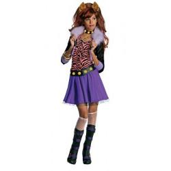Dětský kostým Clawdeen Wolf Monster High