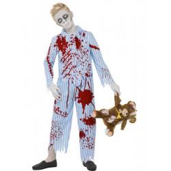 Kostým Zombie kluk v pyžamu