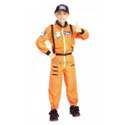 Dětský kostým Astronaut oranžový