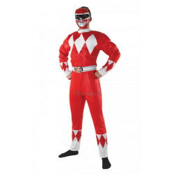 Kostým Mighty Morphin Red Ranger