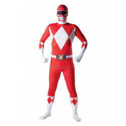 Kostým Mighty Morphin Red Ranger 2ND Skin