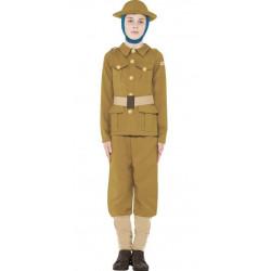 Dětský kostým WWI Boy Horrible Histories