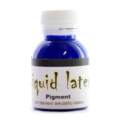 Pigment do latexu modrý