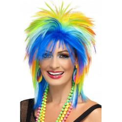 Paruka 80s Rainbow Punk