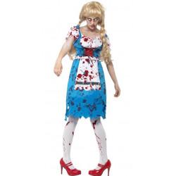 Kostým Zombie žena z Bavor