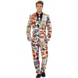 Kostým Komik oblek