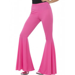 Kalhoty Hippie, dámské růžové