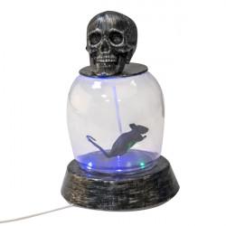 Krysa ve skle svítí, hýbe se a vydává zvuky