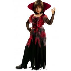 Dětský kostým Gótská lady vamp