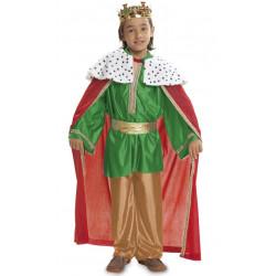 Dětský kostým Tři králové zelený