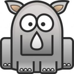 Kostým Okatý děsivý zajíc